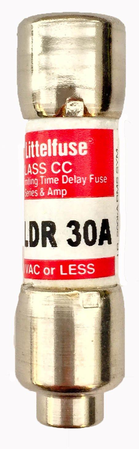 Littelfuse KLDR030.TXP Super intense SALE Class CC Fuse 600V Delay Time Amp Baltimore Mall R 30