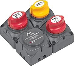 BEP Square Battery Distribution Cluster for Single Engine with Two Battery Banks