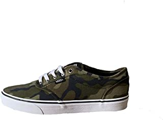 Vans Men's Atwood Low-Top Sneakers (Camo Multi/White, 9 Men M US)
