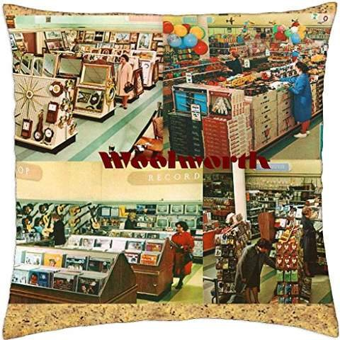 Lansfiel Remember: Woolworth Kissenbezug, 45,7 x 45,7 cm