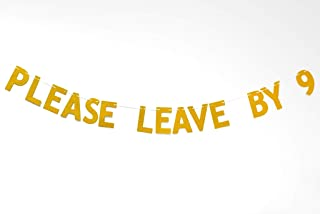 Best please leave by 9 party banner Reviews