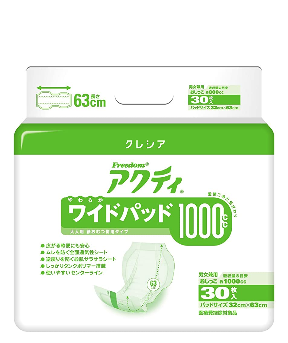 優先権道を作るプラグフリーダムアクティ ワイドパット1000 30枚×4パック 1枚51円