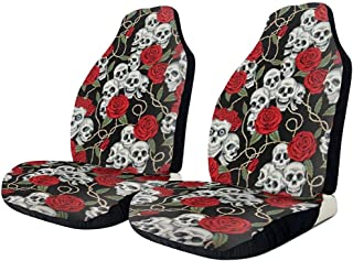 compatibili con sedili con airbag 2017 - in Poi sedili Posteriori sdoppiabili K77S0250 Onkar Coprisedili per Civic Hatchback Versione bracciolo Laterale