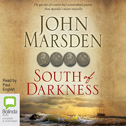 South of Darkness audiobook cover art
