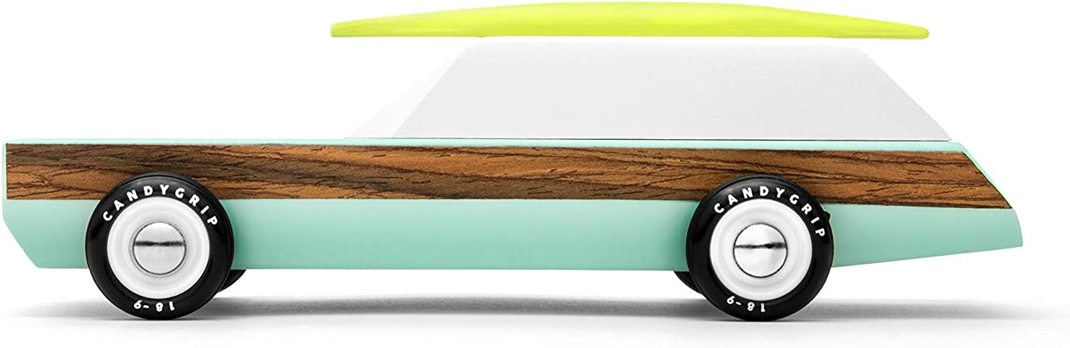 Candylab Toys Wooden Special price Washington Mall for a limited time Cars Woodie Redux with Wagon Mo Surfboard