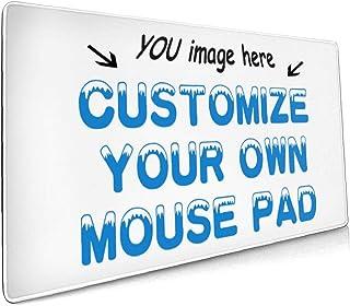 Naisde Personalizado Alfombrilla de ratón Grande, 90x40x3cm Alfombrilla de ratón Grande de Goma para Juegos para PC Resist...