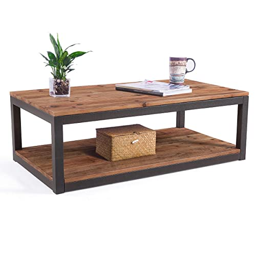 Rustic Coffee Table Sets: Amazon.com