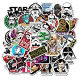 Star Wars Waterproof Stickers of 50 Vinyl Decal Merchandise Laptop Stickers for Laptops, Computers,...
