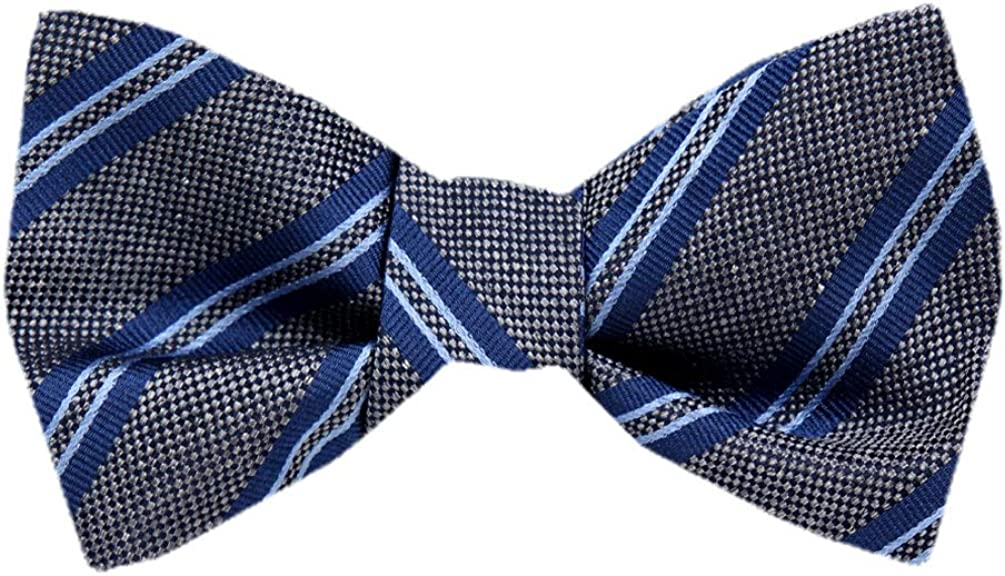 Self Tie Silk Bow Tie XL for Men Big and Tall - Many Patterns Available.