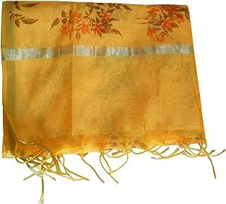 Men Stole Indian Party Scarf Handmade Multicolor Scarves Chunni Dupatta