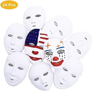 Piques Vercico Poker Masque facial Carnaval No/ël Halloween Nouvel An P/âques Th/ème F/ête Masque De T/ête