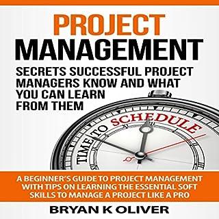 Project Management audiobook cover art