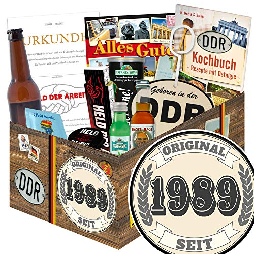 Original seit 1989 ++ DDR Geschenke Männer DDR ++ Geburtstag tolle Geschenke