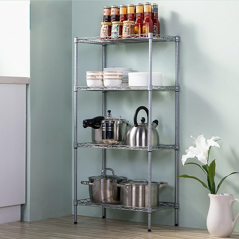 Kitchen Shelf Classic Microwave Oven Rack with Spice Rack Organizer Shelves Kitchen Storage Racks