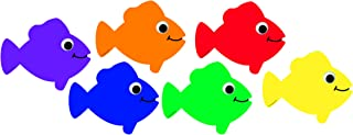 Hygloss Products Fish Classroom Accents – Creative Teaching Resources – 7.5 Inches, 30 Pack