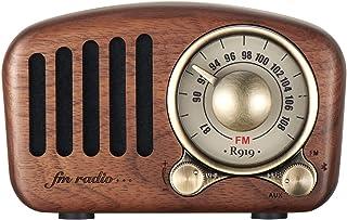 $93 » Maintainhealth Vintage Retro Bluetooth Radio Speaker Vintage Radio FM Radio with Old Fashioned Classic Style, Bluetooth Wi...