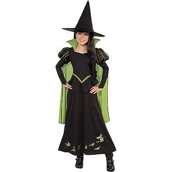 Disfraz infantil oficial de la Bruja Mala del Oeste, del Mago de ...