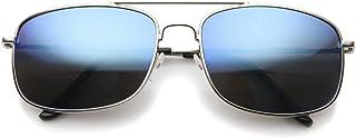KISS - Gafas de sol mod. AIRCRAFT ESPEJADOS - hombre mujer piloto aviador moda VINTAGE