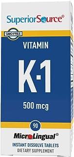 Superior Source Vitamin K1 500mcg