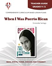 When I Was Puerto Rican - Teacher Guide by Novel Units