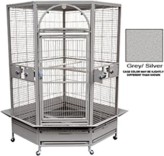 King's Cages GC 14022 Corner Parrot CAGE Bird Toys African Grey Macaw Cockatoo