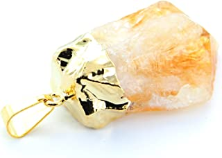7 Chakra Stones® Gold Citrine Point Pendant