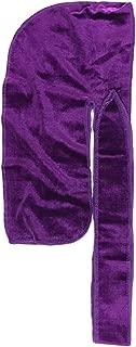 The Mane Velvet Durag XL Straps for 360 Waves Men Durag All Colors