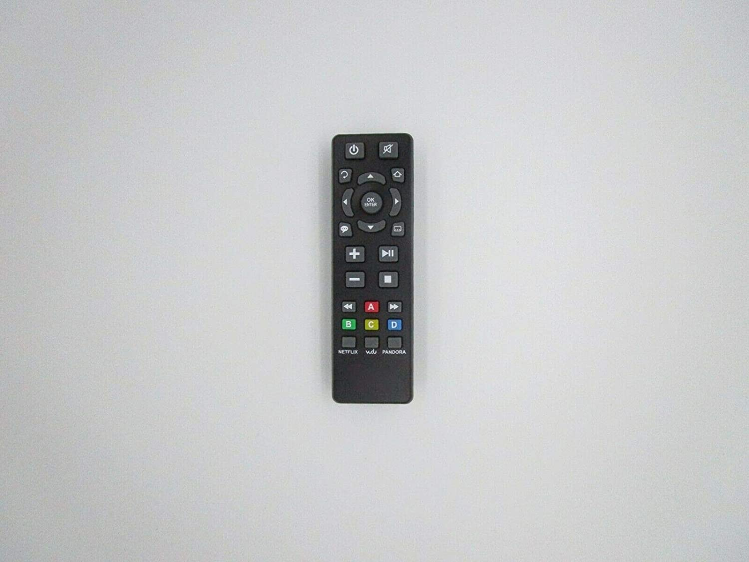 Replacement Remote Control for RCA RTS736W DSB772EB Wi-Fi Streaming Media Player HDTV TV - (Compatible Model:DSB7788W)