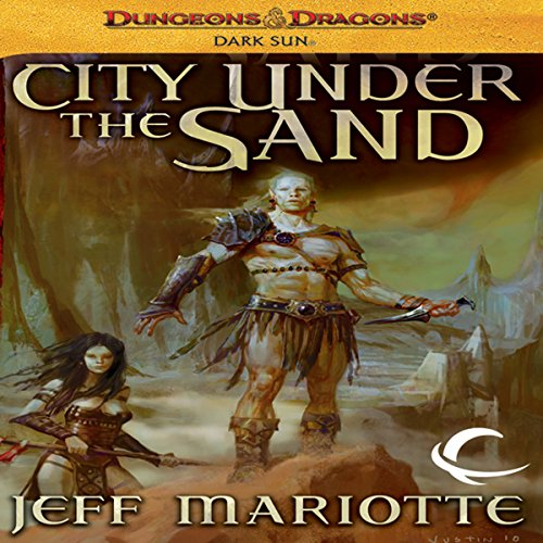 City Under the Sand audiobook cover art