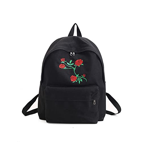 e86096a5ac72 Backpack with Rose: Amazon.co.uk