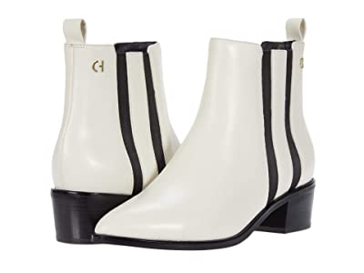 Cole Haan Valorie Bootie (45 mm) (Ivory Princess Leather) Women
