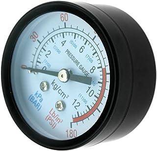 'Kompressor Air Filter 0–180Psi 1/4BSP Manometer Druck von Air 50mm
