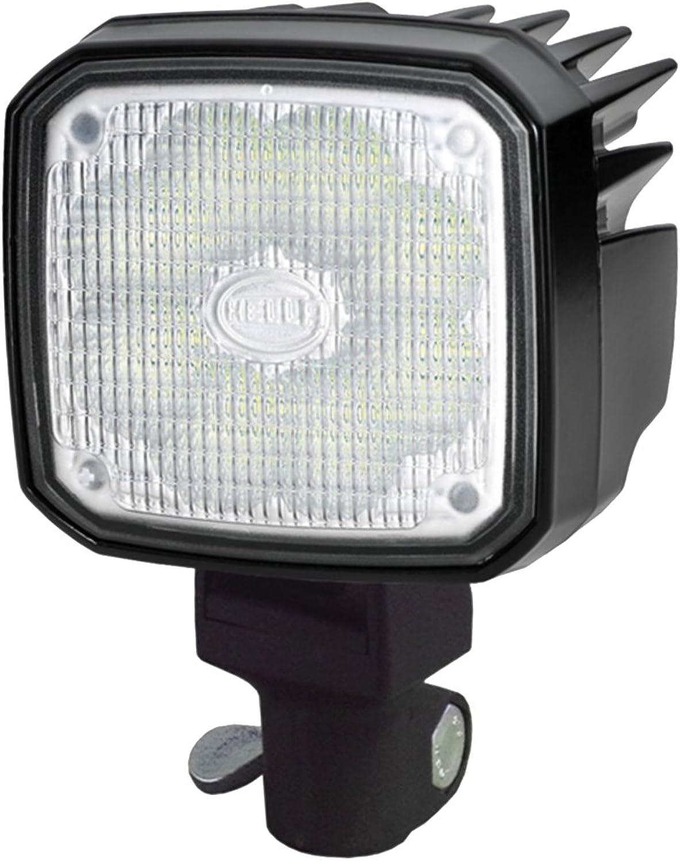 HELLA 1GA 995 606-151 Arbeitsscheinwerfer Ultra Beam LED für Nahfeldausleuchtung, Anbau  Rohrstutzen, 12V 24V