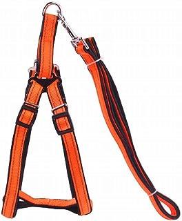 Anglayif Dog Harness with Vertical Handle,Calming Adjustable Reflective Outdoor Adventure (Color : Black, Size : L) Joys (...