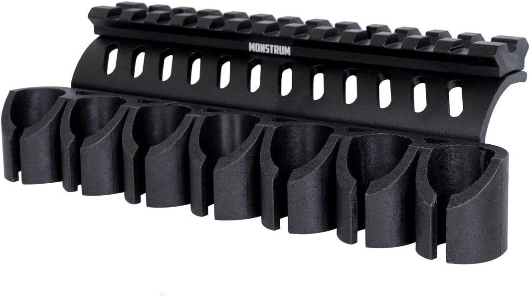 Monstrum Side Saddle 世界の人気ブランド Shell Holder OUTLET SALE 590 for Shockwave 500 Mossberg