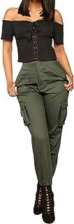 Mirabella Health /& Beauty Pantalon Treillis Femme Blue Marine Coupe Longue 38