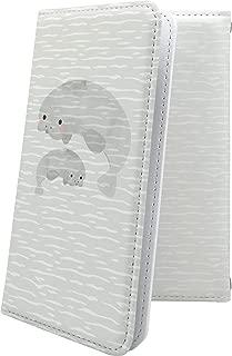 dynapocket X02T ケース 手帳型 アザラシ イルカ 動物 動物柄 アニマル どうぶつ ダイナポケット ケース 手帳型ケース ハワイアン ハワイ 夏 海 dynapocketX02T ケース 水族館 シーパラダイス