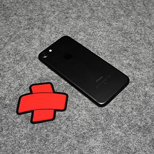 Kreative Abdeckung kratzt reflektierende Auto Aufkleber Motorrad-Abziehbild-Aufkleber wasserdicht Band-Aid netten Aufkleber 7x7cm A-JINGHUA (Color Name : White)
