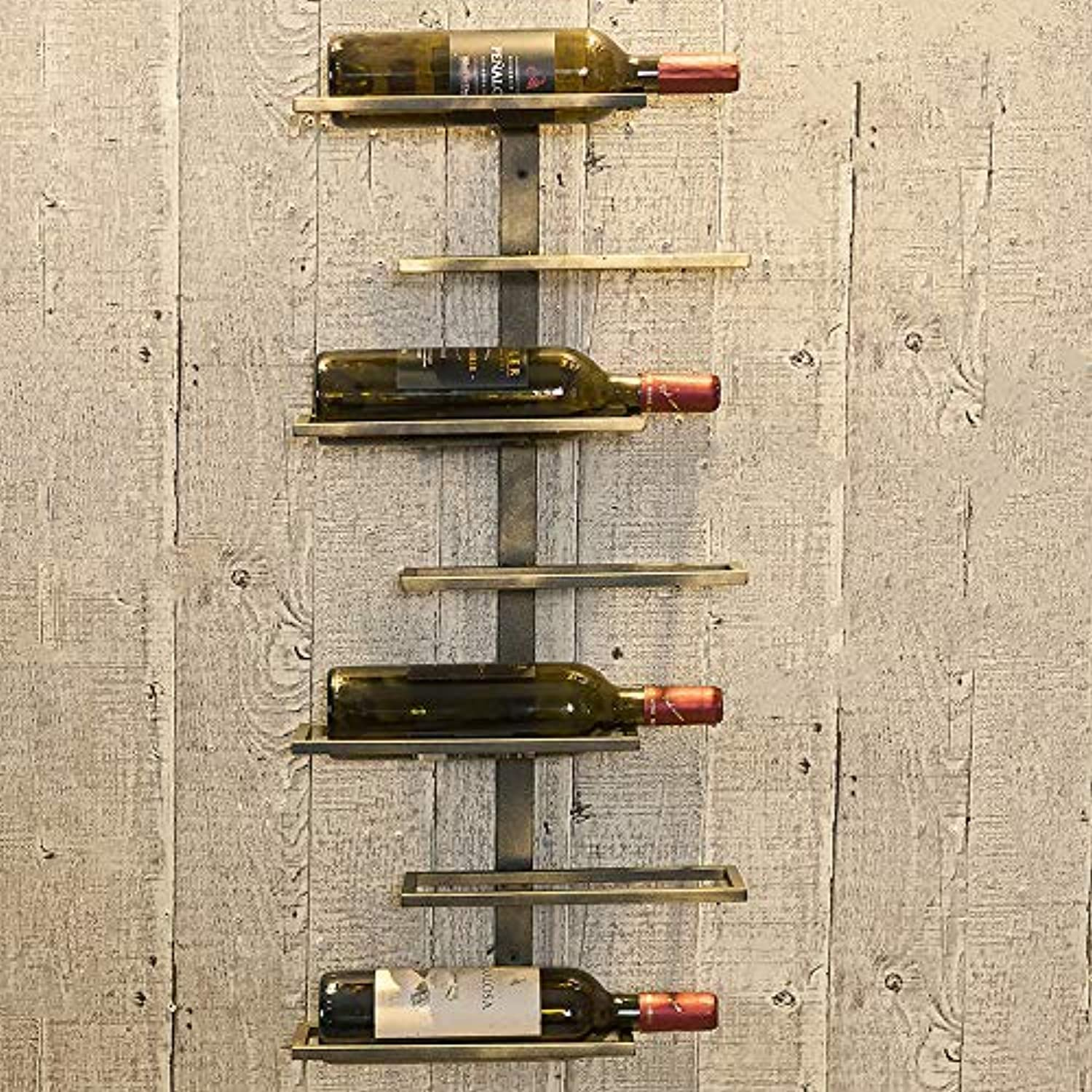 Storage Shelf Red Wine Rack, Simple Wall, Bar Wine Display Rack Home Stand (color   Seven Level 36  11  77)