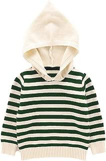 Little Boys' Girls' Crewneck Striped Pullover Sweater (Baby boy/Toddler)
