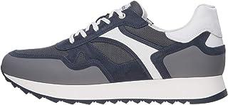 NeroGiardini E001502U Sneaker Uomo Tela/Camoscio/Pelle