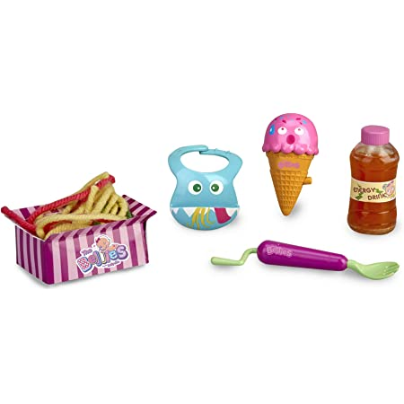 The Bellies- Bellies Crazy Meals Kit de muñecos bebés, niñas a Partir de 3 años (Famosa 700015537)