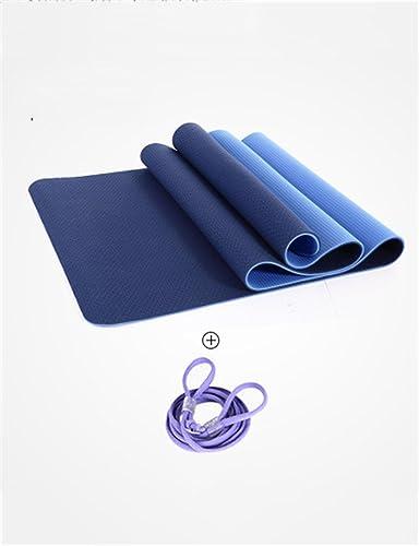 Pique-Nique Tapis antidérapant Plus Long de Tapis de Yoga Plus antidérapant de TPE Anti-dérapant, Couleur facultative