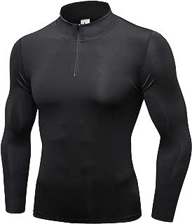 PAIZH Men's 1/4 Zip Pullover Active Sweatshirt Long Sleeve Workout Running Shirts