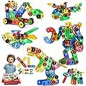 STEM Toys Building Blocks 116-Pieces Educational Construction Tiles Set