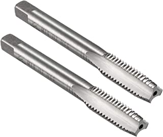 uxcell Metric Machine Tap M10 x 1.5mm H2 HSS Uncoated 3 Straight Flutes Thread Tapping DIY Tool 2pcs