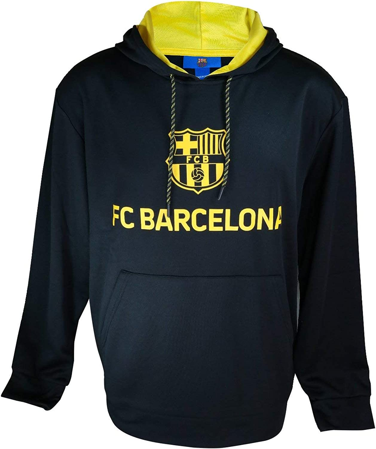 Icon Sports Group FC Barcelona Pullover Official Soccer Hoodie Sweater 007