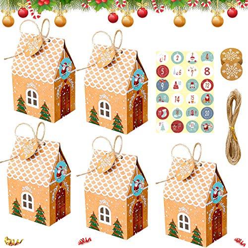 Sunshine smile Weihnachten Geschenkbox,24 pcs verpackung Weihnachten,Geschenkbox Karton,Geschenkbox,Christmas Box, Box,Xmas Gift Box,Weihnachten Geschenkboxen Set
