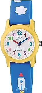 Q&Q Unisex-Child Quartz Watch, Analog Display and Resin Strap VR99J003Y