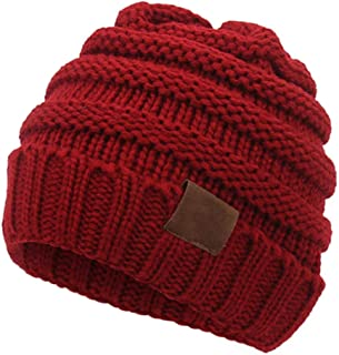 Aigemi Baby Boy Girl Winter Warm Hat, Infant Toddler Kids Beanie Knit Cap for Girls Boys